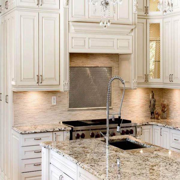 Charleston Antique White | Wholesale RTA Kitchen Cabinets ...